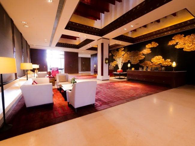 Interior of the Shangri-la lhasa