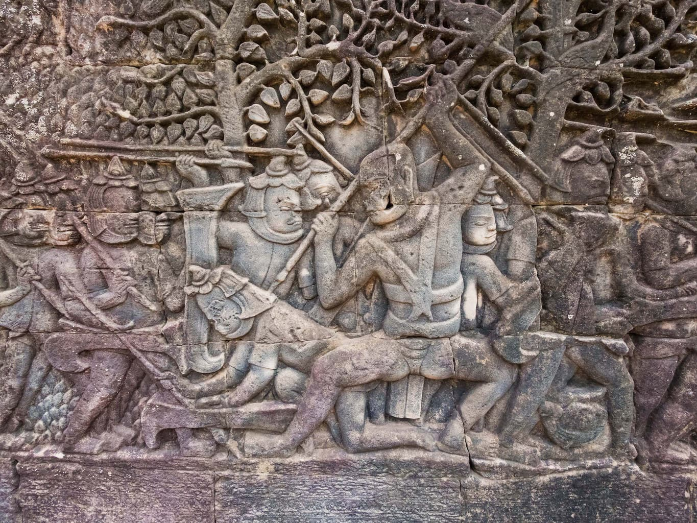 Cham relief