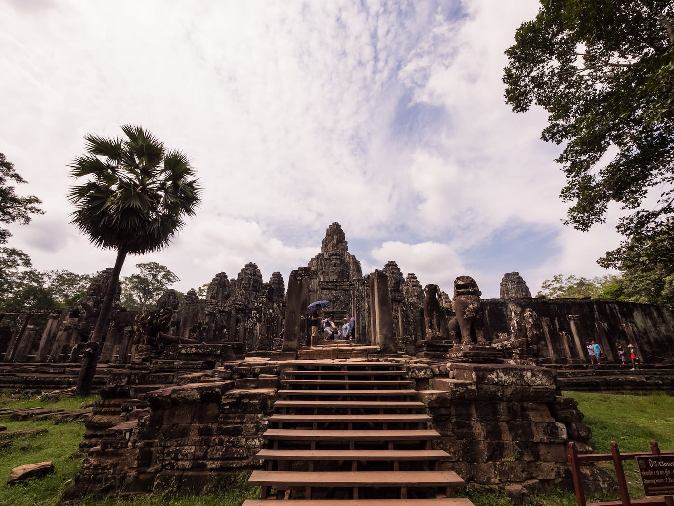 Entering the Bayon