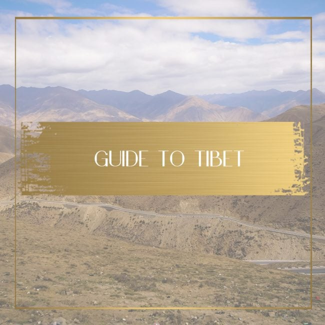 Guide to Tibet feature