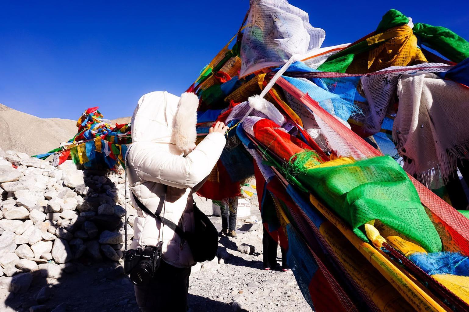Reaching Everest base camp