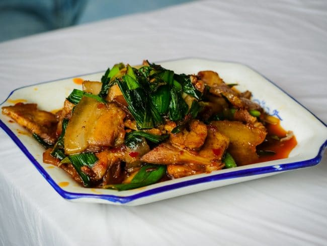 Stir fry pork