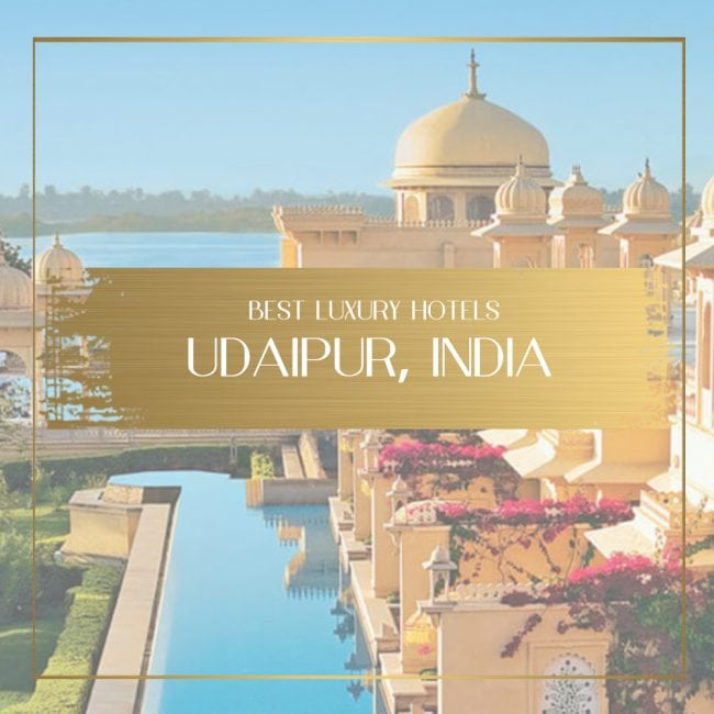 Best luxury hotels in Udaipur Feature