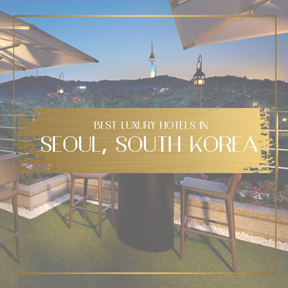 Best Luxury Hotels In Seoul South Korea For Your Dose Of
