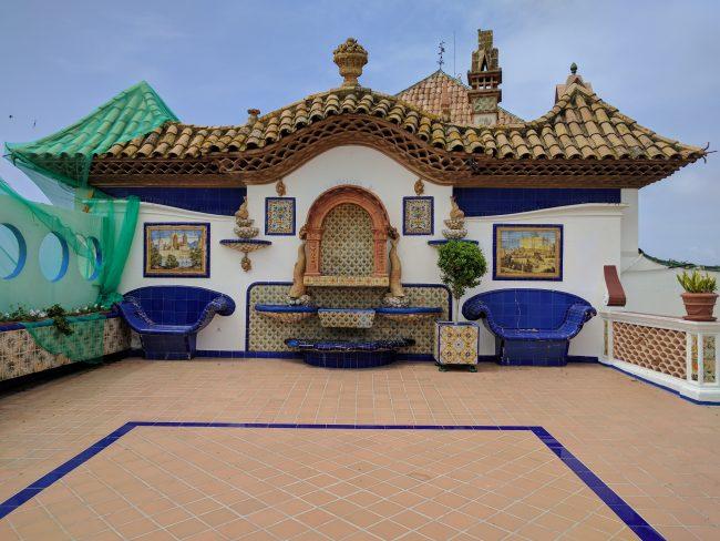 Palau Maricel roof