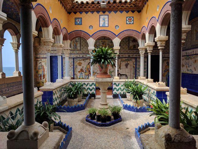 Palau Maricel courtyard