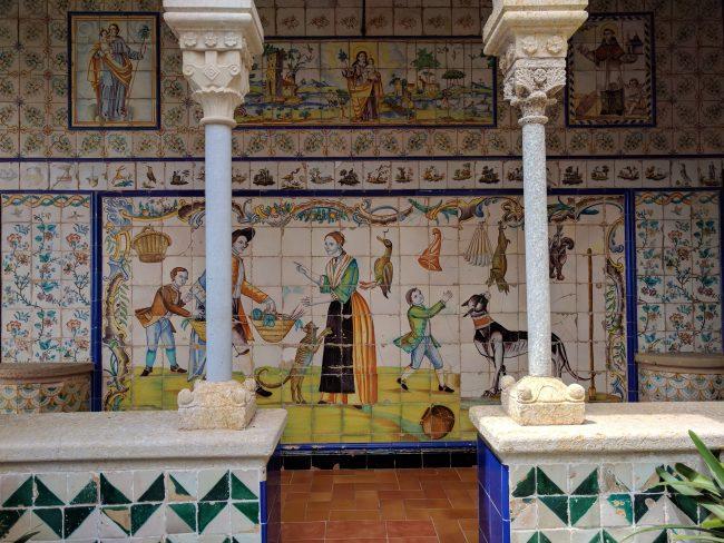 Palau Maricel tiles
