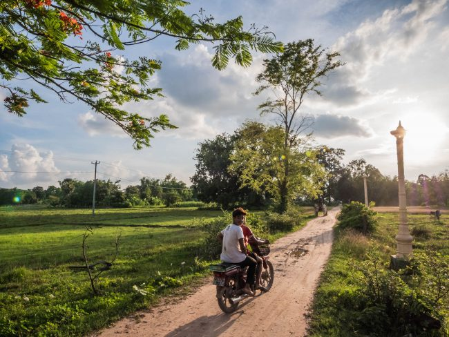Motorbike on Koh Trong