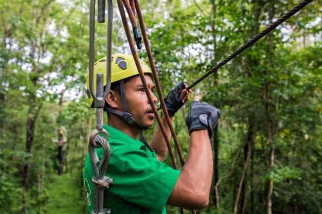 Bousra ziplining guide