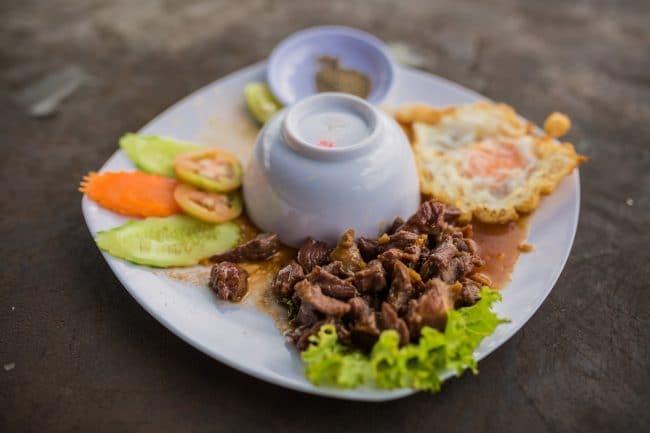 Coffee plantation lunch