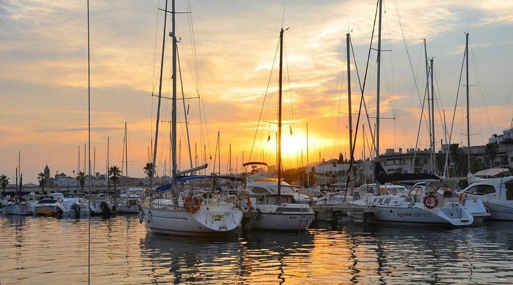 Port in Sitges