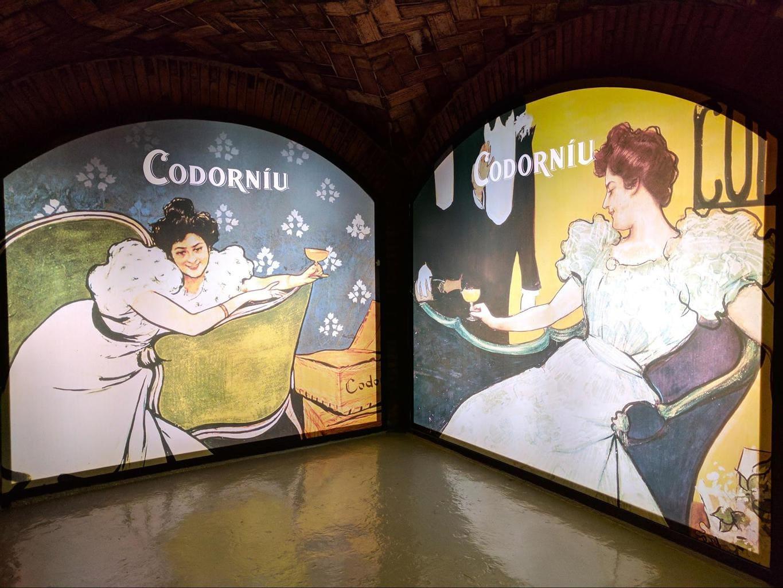 Codorniu's modernist past