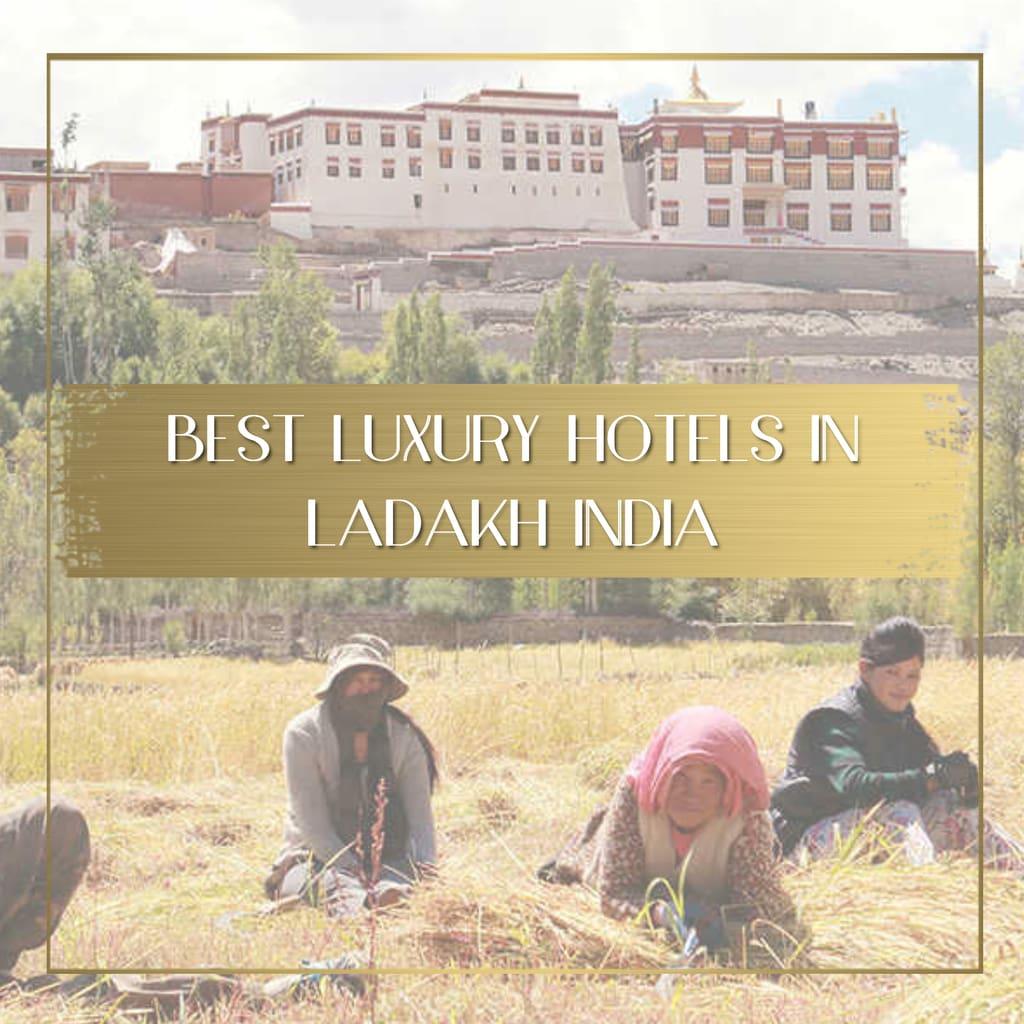 Best luxury hotels in Ladakh India feature