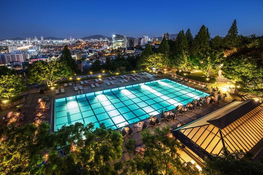 Grand Hyatt Seoul pool