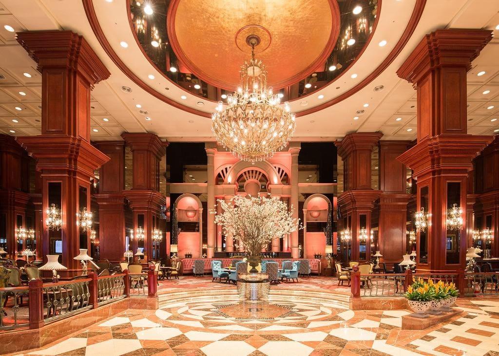 Imperial Palace Seoul lobby