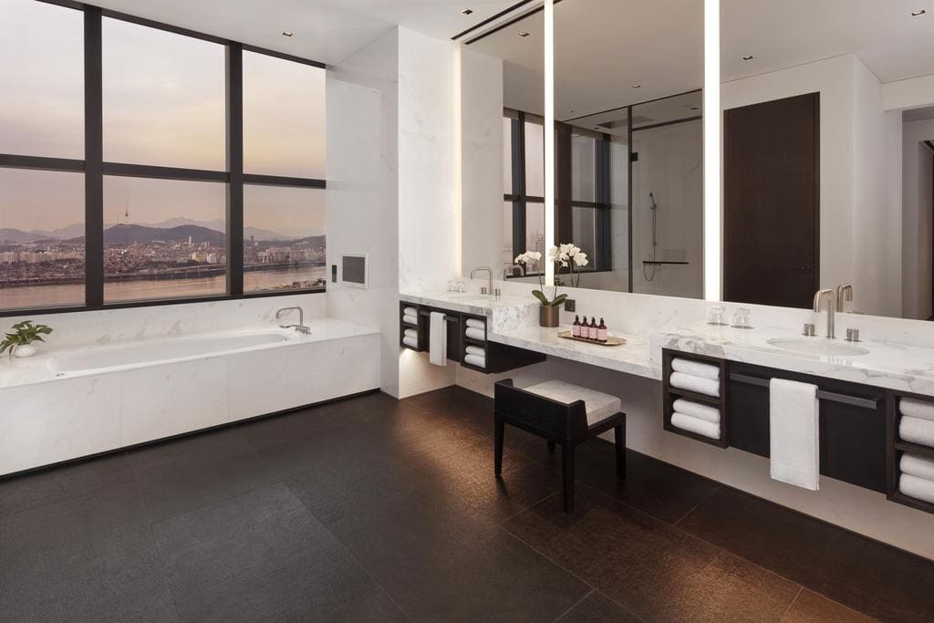 JW Marriott Seoul bathroom