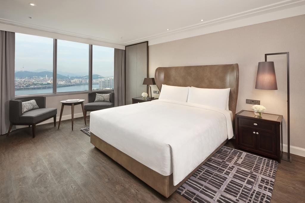 JW Marriott Seoul suite