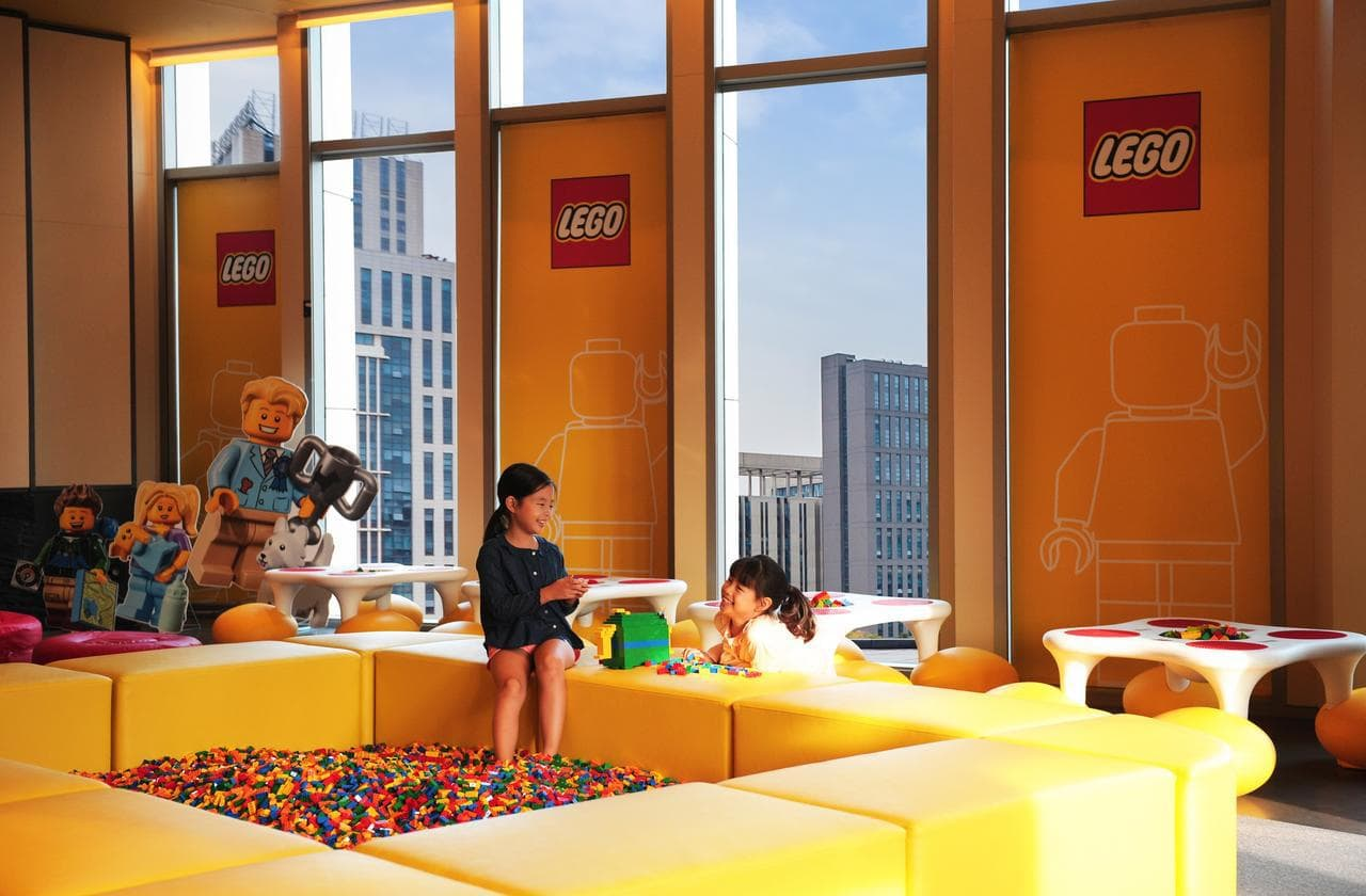 Kids play area at Four Seasons Seoul