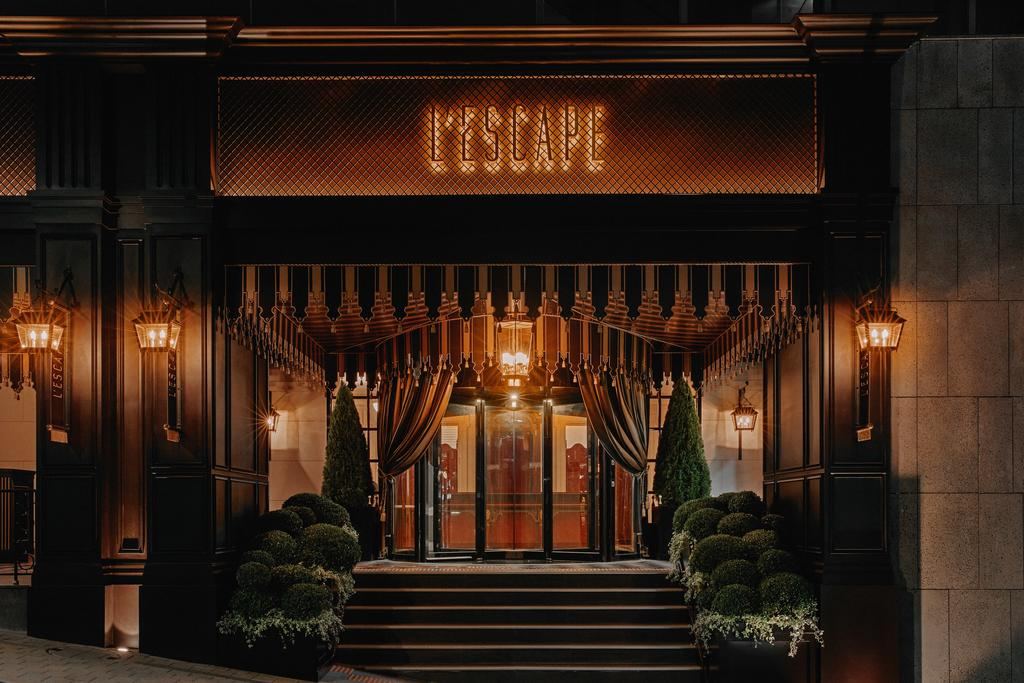 L'Escape Hotel entrance