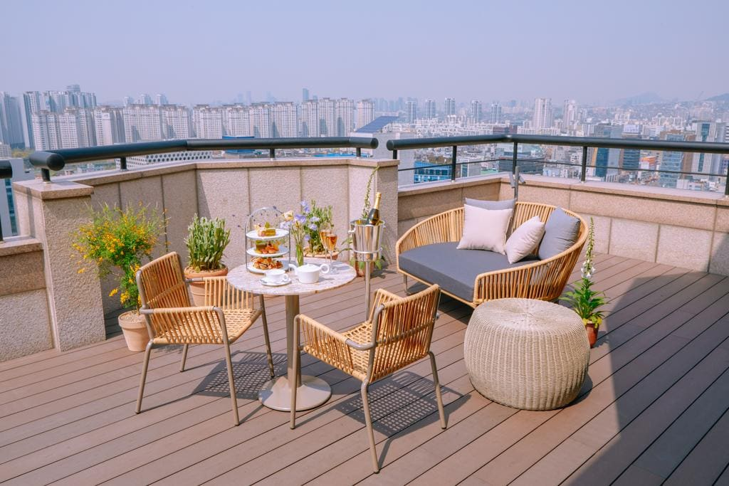 Le Meridien Seoul views