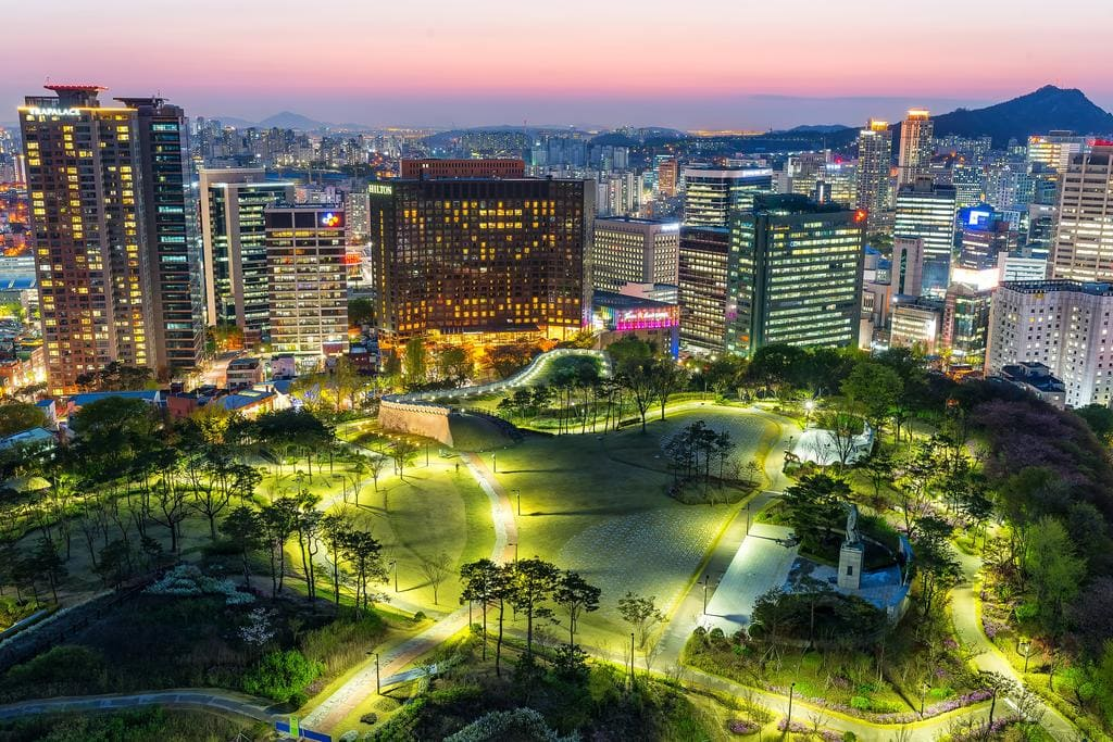 Millennium Hilton Seoul view