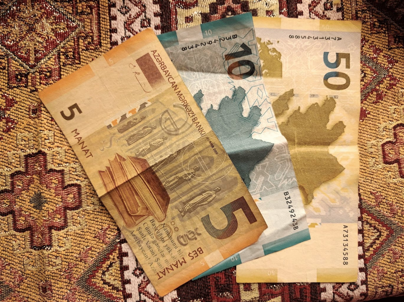 Azerbaijan money