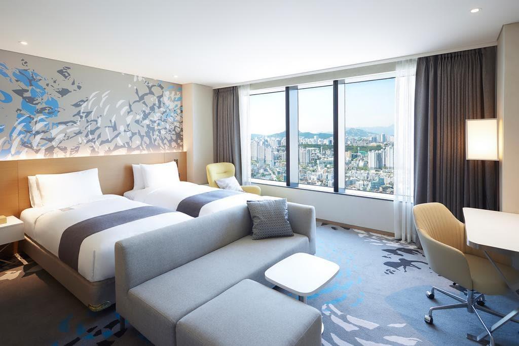 Novotel Suites Ambassador Seoul Yongsan views