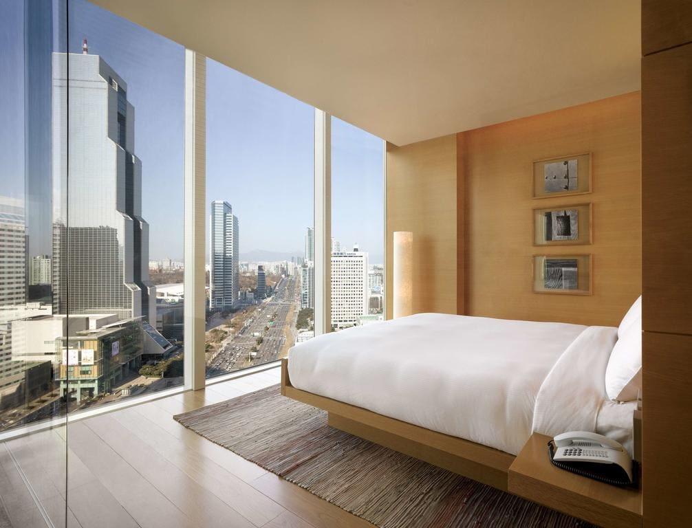 Park Hyatt Seoul suite views