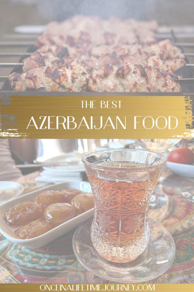 Azerbaijan food pin