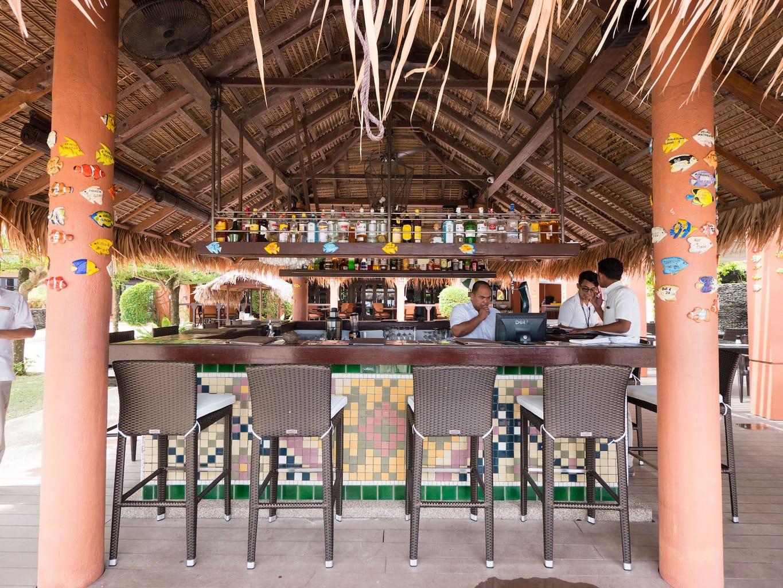 The bar at Casa Del Mar Langkawi
