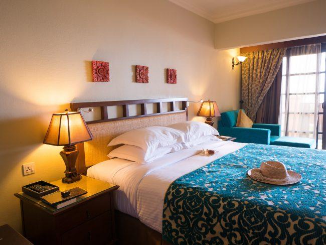 Casa Del Mar Master bed