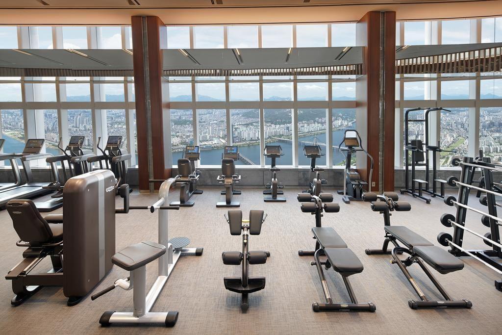 Signiel Seoul gym