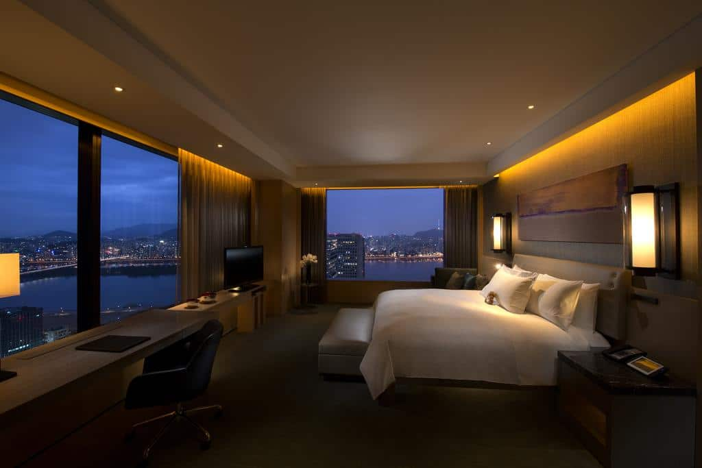 Where to stay in Seoul with great views - Conrad