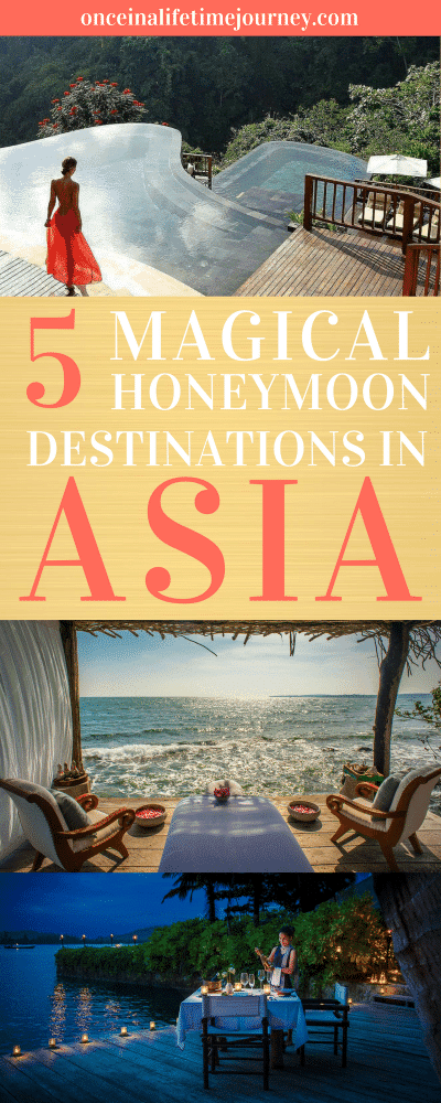 5 Magical Honeymoon Destinations in Asia
