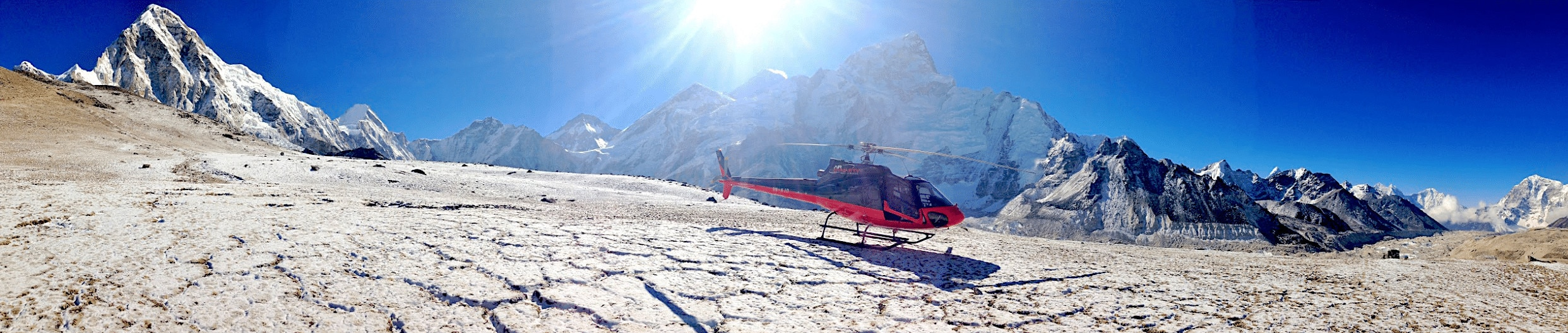 Everest Base Camp helicopter tour viator