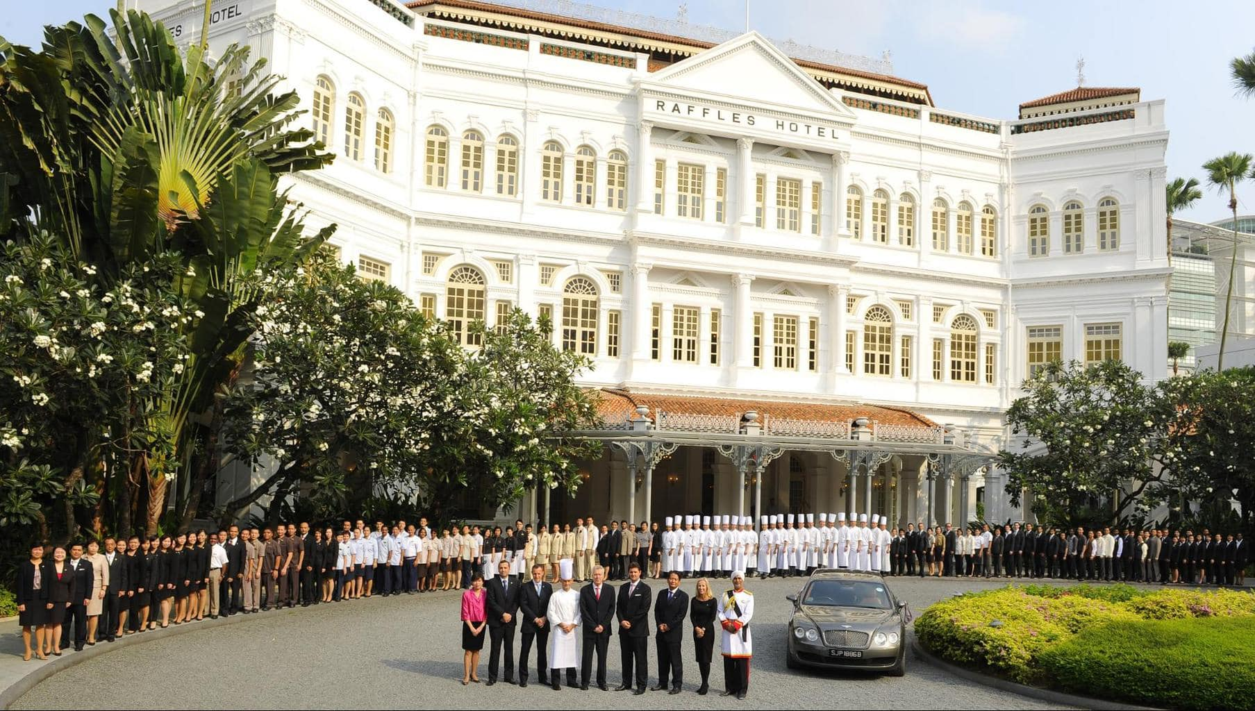The story of Raffles Singapore, the oldest hotel in Asia