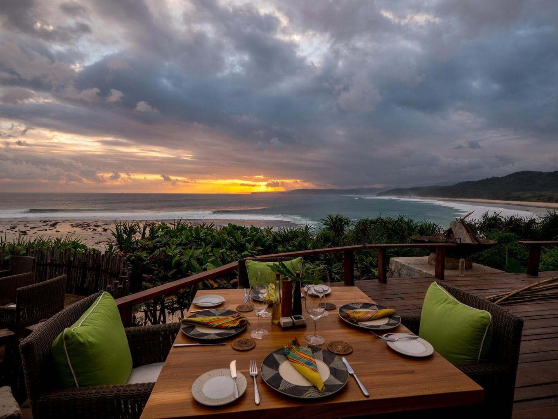 Sunset Dinner view