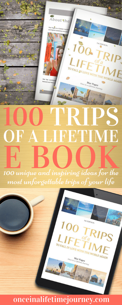 100 Trips of a Lifetime E Book