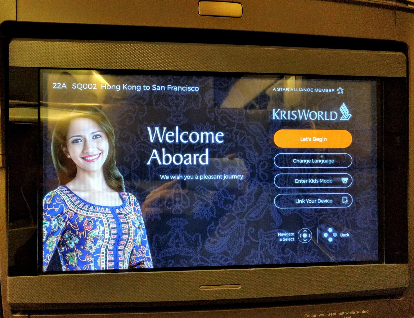 Review of Singapore Airlines Business Class to San Francisco via