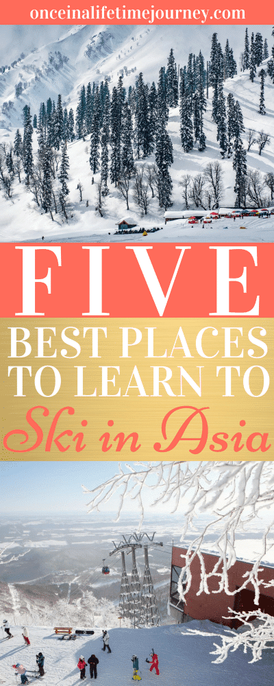 Best Places to Learn to Ski in Asia