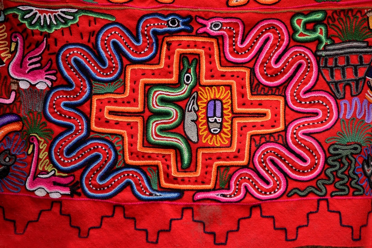Peruvian fabric