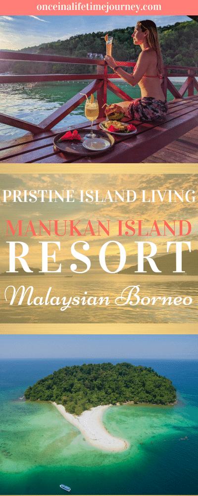Manukan Island Resort in Malaysian Borneo