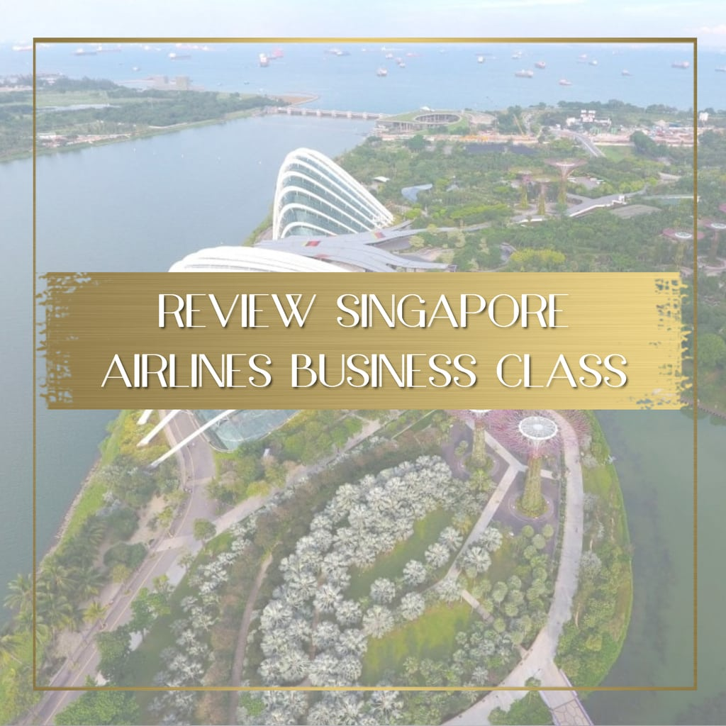 Singapore Airlines Business Class Feature