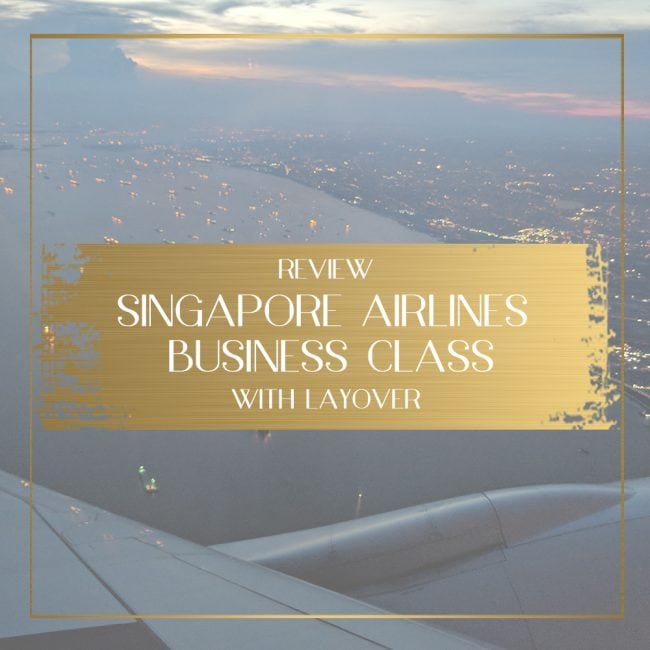 Singapore Airlines Business Class, Feature