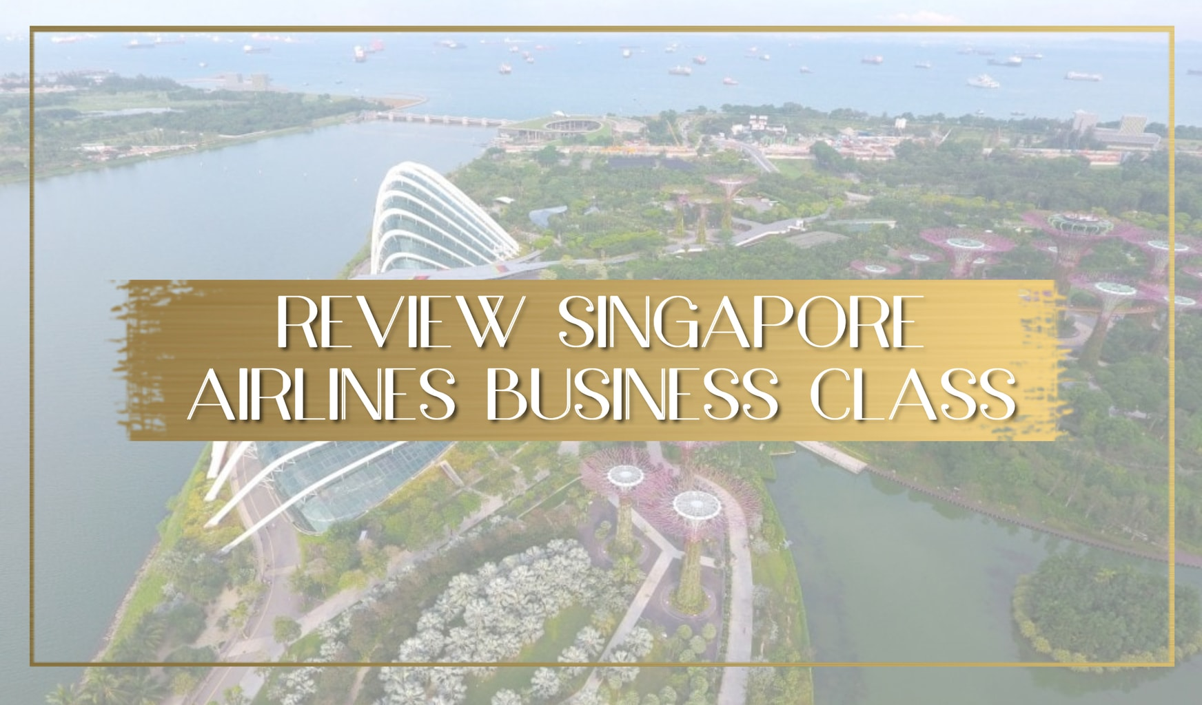 Singapore Airlines Business Class Main