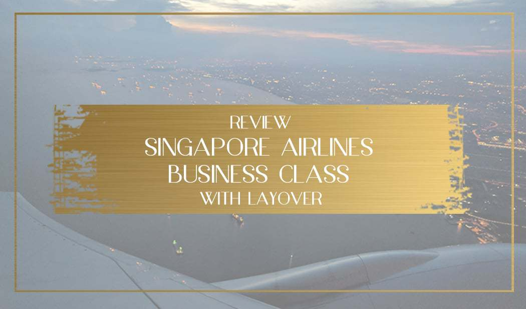 Singapore Airlines Business Class, Main