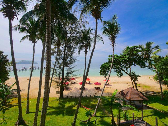 Sutera Sanctuary exteriorview of beach