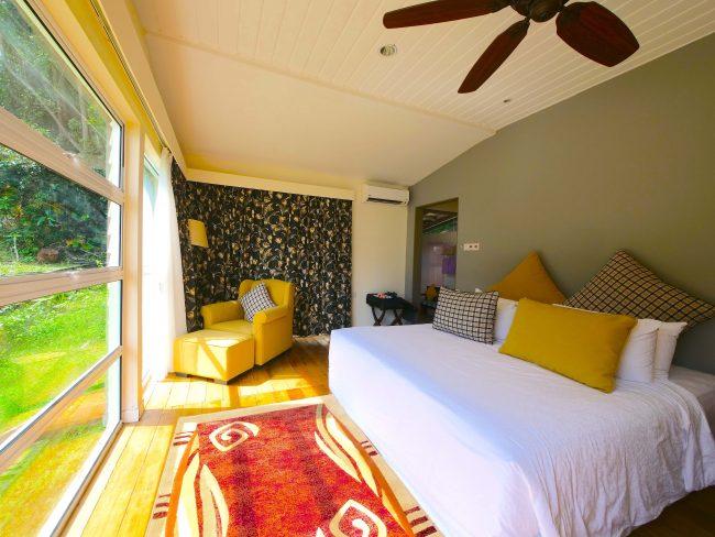 Sutera Sanctuary interior bedroom sun