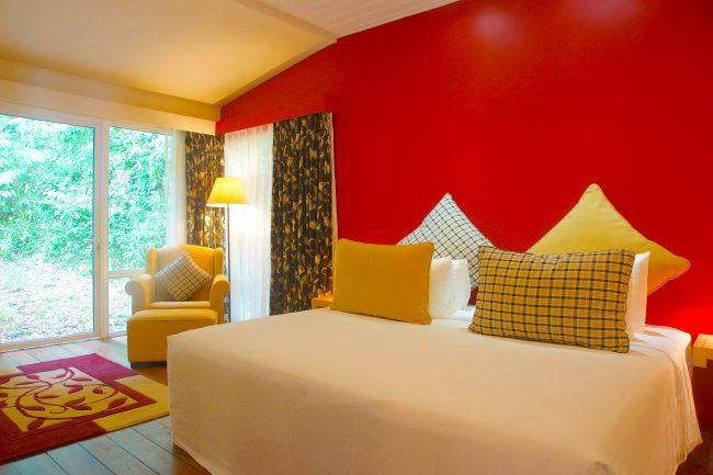 Sutera Sanctuary interior bedroom wall