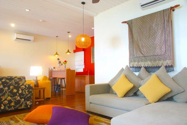 Sutera Sanctuary interior living area